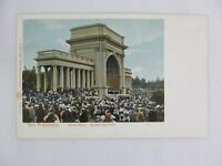 Vintage Postcard Music Stand Golden Gate Park San Francisco California