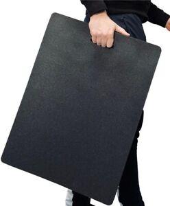 Large Black Industrial Garage/Factory Mechanic/Assembly kneeling/Lying work mat