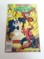 Amazing Spiderman 362 Newsstand VF 2nd Carnage Marvel