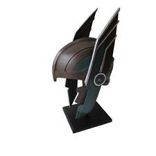 Thor Ragnarok Helmet with Wooden Stand