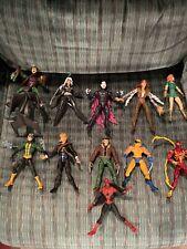 huge marvel legends figure lot hasbro toybiz green goblin variant spider Man +++