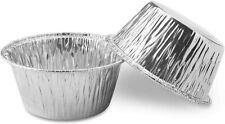 100 Muffin Baking Cups Aluminum Foil Ramekins Disposable Container Standard Size