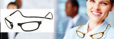 CliC +2.0 Diopter Magnetic Reading Glasses: Expandable - Tortoise