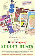 MISS MASTERS' SPOOFY TUNES 1993 BUTTHEDZ TRADING CARD BOX