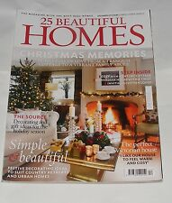 25 BEAUTIFUL HOMES DECEMBER 2012 - CHRISTMAS MEMORIES/SIMPLE & BEAUTIFUL