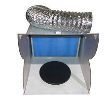 RDGTOOLS modèle portable airbrush spray stand avec filtre densité Hotte aspirante