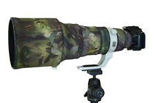 Canon 400mm f2.8 IS mk2 Neoprene lens camouflage coat cover  Woodland Camo