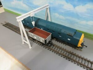 3 D Printed  Gantry Crane to span double track  00 Gauge  part Assembled