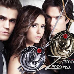 Film The Vampire Diaries YRtherine Anti-Sonnenlicht Lapislazuli Anhänger HalR.S$