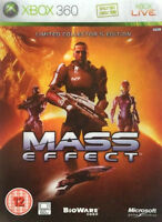 Mass Effect -- Limited Steelbook Edition (Microsoft Xbox 360, 2007)