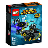 LEGO DC Comics Super Heroes Mighty Micros Batman vs Catwoman 76061 Brand New