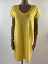 GAP 'Pale Gold' Yellow Oversized Tshirt Dress XL BNWT