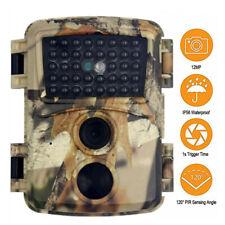 Trail Game Camera 1080P Hunting Scouting Wildlife Camera Waterproof Night Vision