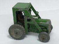 English Rare Original Old 1950 Charbens Diecast Green Farm Tractor Toy Model