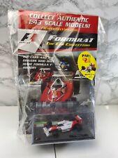 AYRTON SENNA MP4/4 Mclaren F1 Racing Car 1988 - Brand New Magazine - 1:43 Scale