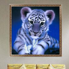 5D Diamond Painting Tiger Cross Stitch Embroidery Rhinestone Home Decor Handwork