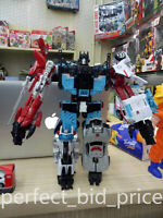 New In Stock Defensor Deformabl 6 in 1 Autobot G1 IDW Comic Robot Car Kids Toys