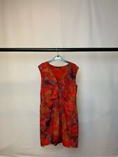 Women's Oasis Floral Red Mini Dress Size 16