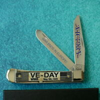 CASE XX USA VE Day Bone Trapper Knife 6254 - NEW Victory in Europe WWII War Ends