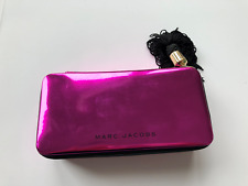 NEW❤Marc Jacobs❤Up All Night Fuchsia ❤Makeup Bag❤Pouch Clutch❤Travel Brand❤
