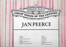 2 LPS GREAT VOICES OF THE CENTURY JAN PEERCE /JOHN MCCORMACK Everest/Scala int-
