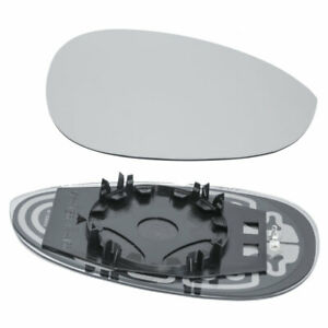 Mirror Glass for 2012 2013 20142019 FIAT 500 Passenger Right Side Heated
