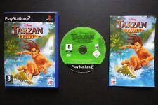 DISNEY TARZAN FREERIDE : JEU Sony PLAYSTATION 2 PS2 (enfants COMPLET env. suivi)