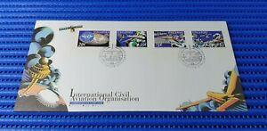 1994 Singapore First Day Cover International Civil Aviation Organisation