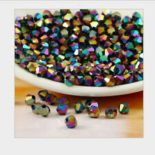 New #5301 jewelry 3mm Glass Crystal Bicone bead 1000pcs Multicolored