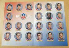 Helsingborgs IF, 1996, original signed team photo, Sweden Allsvenskan
