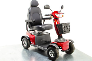 Van Os Galaxy II Used Mobility Scooter 8mph Large Comfort Class 3 Road Legal Red