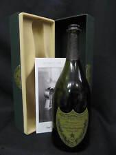 CUVEE DOM PERIGNON Empty VINTAGE 1990 Champagne Bottle, Gift Box & Booklet Set