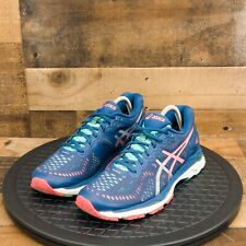 Asics Gel Kayano 23 Womens Athletic Shoes Running Walking Training Blue Size 9.5