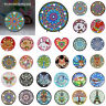 Mandala Diamond Painting Art Light Embroidery Full Special Shaped Drill LED Lamp