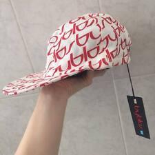 NUOVISSIMO Cappellino con visiera Bambina/o 'BYBLOS' ORIGINALE! Bianco e Rosso