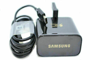 100% GENUINE FAST CHARGER PLUG & CABLE SAMSUNG GALAXY S8 S9 S10 Plus Note 9 / 10
