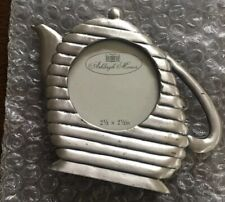 Ashleigh Manor Pewter Tea Pot/ Coffe Pot Picture Frame New