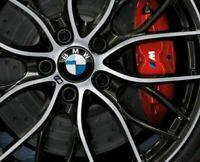 4 Pegatinas sticker brake aufkleber pinzas de freno BMW bandera M 5 cm