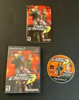 Time Crisis 3 - Sony PlayStation 2 PS2 Game *Game Only no guns* Case & Manual