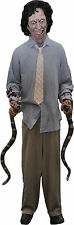 Halloween LifeSize Animated SNAKE HANDLER Animatronic Prop Haunted House