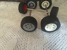 Playmobil tres ejes de repuesto para los vehículos de repuestos o reparaciones Playmobile