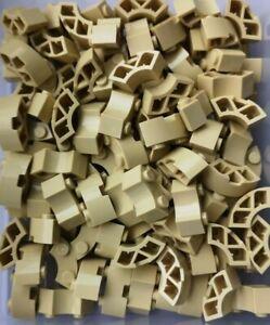 LEGO Brick Round Corner 2x2 Macaroni 85080 TAN pack of 56 New Ref:390