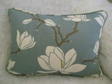 "ROMO FABRIC FLORESCA OBLONG CUSHION 18"" X 12 ""(46 CM X 30 CM) DOUBLE SIDED"
