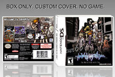 NINTENDO DS : THE WORLD ENDS WITH YOU. ENGLISH. COVER + ORIGINAL BOX. (NO GAME).