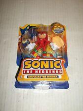 "Jazwares Sonic the Hedgehog KNUCKLES THE ECHIDNA 3.5"" Figure RARE"