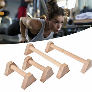 Push Up Support Stand Gymnastics/Calisthenics Low Parallel Wooden Dip Sale