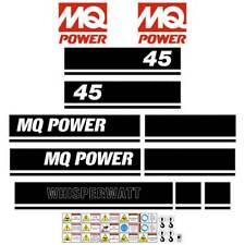 Multi Quip DCA45  Decals  - Aftermarket Generator Stickers