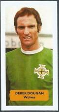 SCORE-FOOTBALL LEAGUE STARS-WOLVES & NORTHERN IRELAND-DEREK DOUGAN