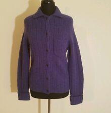 J. Crew Women's Cardigan Sweater 100% Shetland Wool Medium