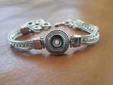AUTH. GINGER SNAPS Brand  Multi Chain Bracelet, Silver Plated